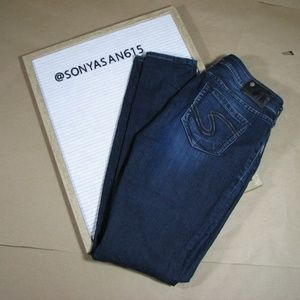 Silver Suki Jeggings CA00508 Blue Jeans W29/L31
